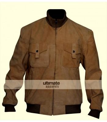 San Andreas Dwayne Johnson Brown Bomber Jacket
