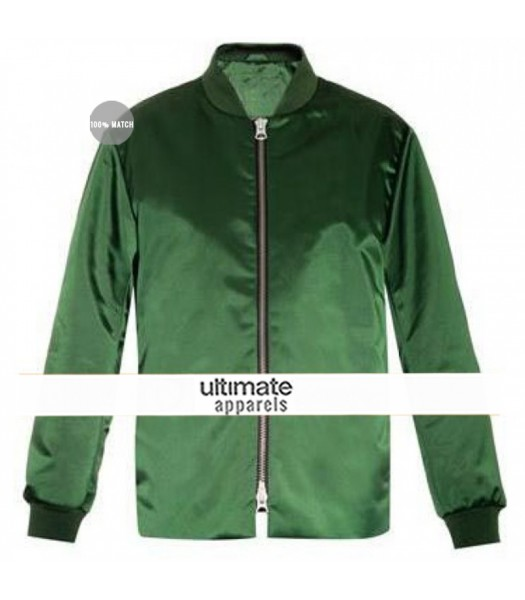 Ellie Goulding Green Bomber Jacket
