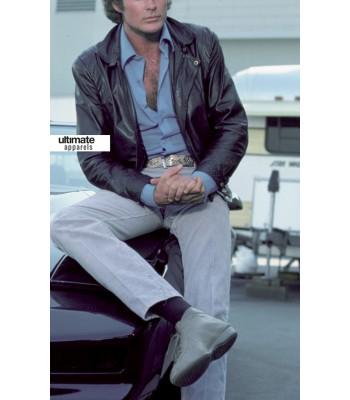 Knight Rider David Hasselhoff Black Jacket