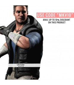 Mortal Kombat X Johnny Cage Leather Vest