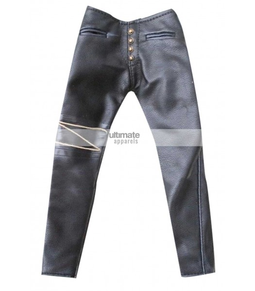 The Crow Movie Leather Costume Pant