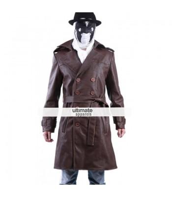 Watchmen Rorschach Trench Costume Jacket