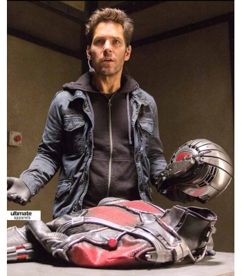 AntMan Movie Paul Rudd (Scott Lang) Black Jacket