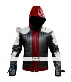 Batman Arkham Knight Game Red Hood Costume Jacket