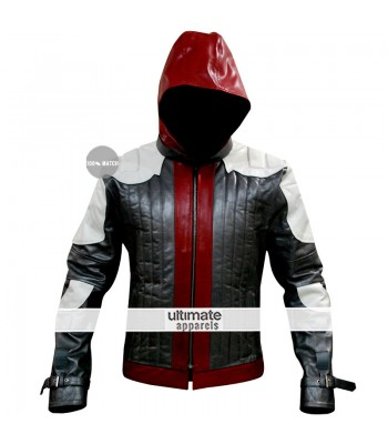 Batman Arkham Knight Game Red Hood Costume Jacket