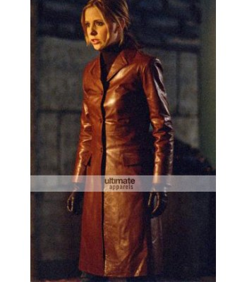 Buffy the Vampire Slayer Buffy Summers Red Coat