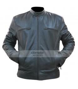 Dean Ambrose WWE Grey Replica Leather Jacket