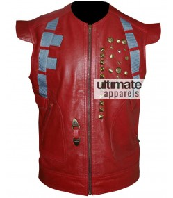 Star Lord Leather Vest From Guardians Of The Galaxy