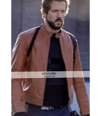 Blade Trinity Ryan Reynolds (Hannibal King) Brown Jacket