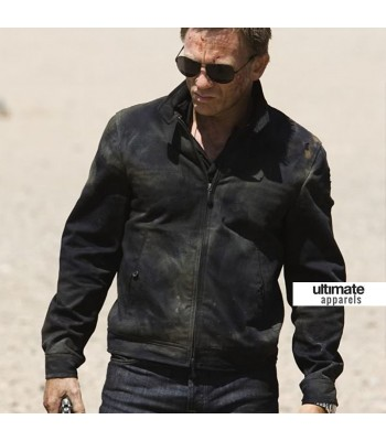 Quantum of Solace Daniel Craig Bond Haiti Jacket