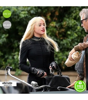 3 Days To Kill Amber Heard (Vivi Delay) Jacket