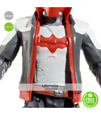 Batman Arkham Knight Red Hood Leather Vest