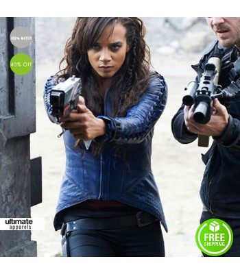 Killjoys Hannah John Kamen (Dutch) Dark Blue Jacket