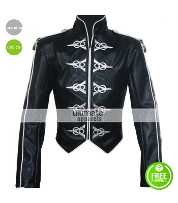 Michael Jackson This Is It World Tour Punk Leather Jacket