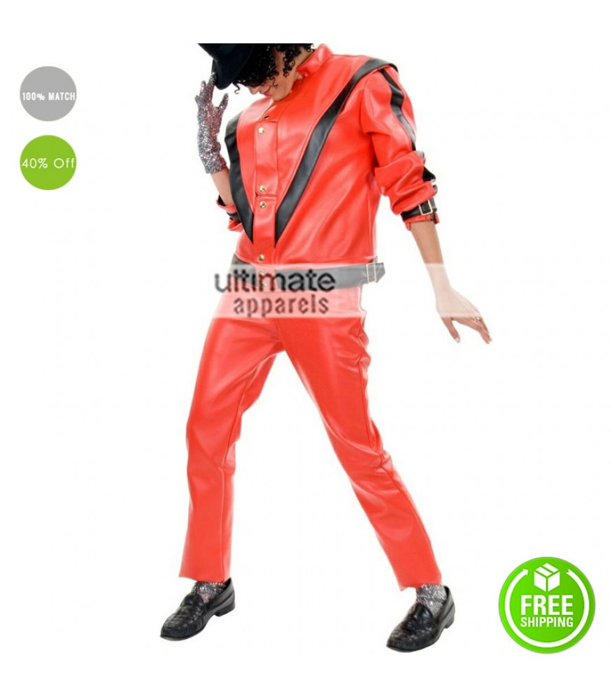 Michael Jackson Thriller Leather Pant For Sale
