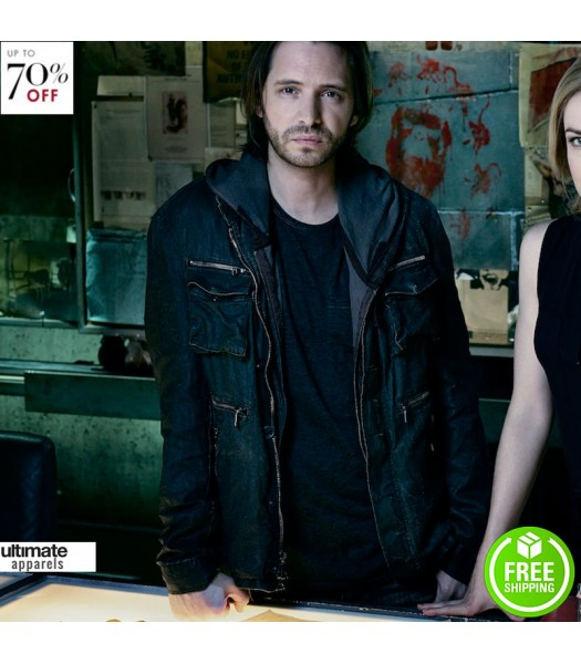 12 Monkeys Aaron Stanford (James Cole) Jacket
