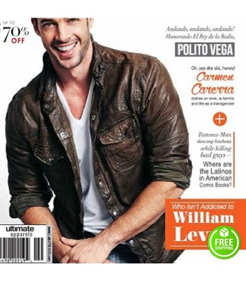 Addicted William Levy (Quentin Matthews) Jacket