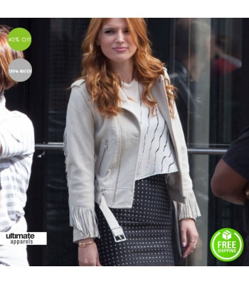 Alvin And The Chipmunks Road Chip Bella Thorne Fringe Jacket