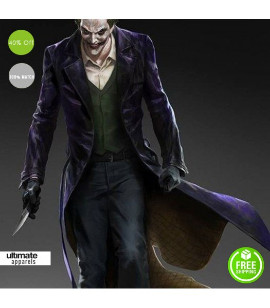 Batman Arkham Knight Origins Joker Cosplay Costume