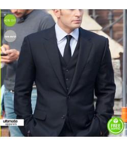 Captain America Civil War Chris Evans Suit Coat