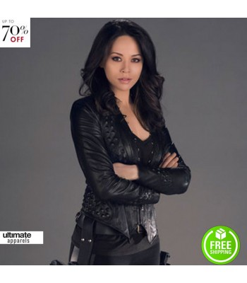 Dark Matter Melissa O Neil Black Leather Jacket