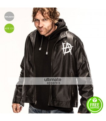 Dean Ambrose New Logo Black Quilted Jacket