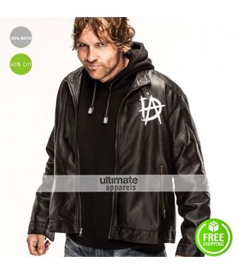 Dean Ambrose New Logo Black Quilted Jacket