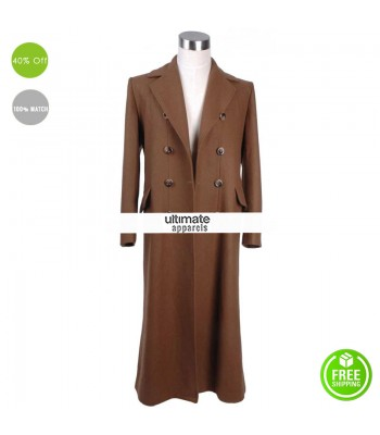 Doctor Who David Tennant (The Doctor) Brown Trench Coat