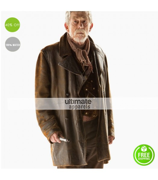 Doctor Who John Hurts (War Doctor) Leather Jacket