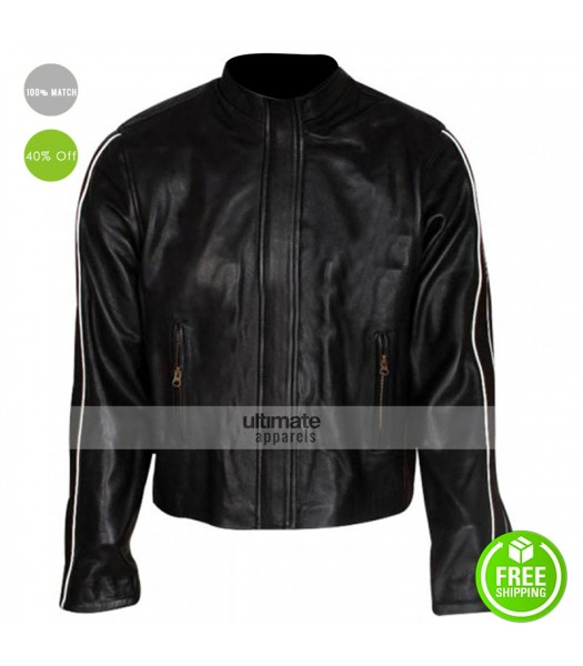 Fantastic Four Chris Evans (Johnny Storm) Leather Jacket
