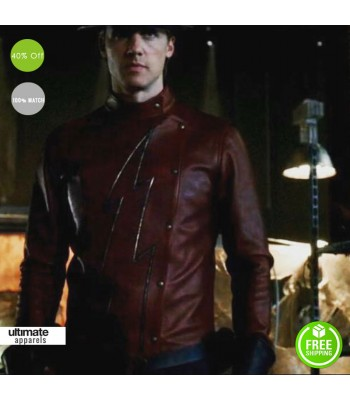 Flash Season 2 Jay Garrick Leather Jacket