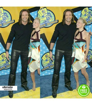 Hugh Jackman 2003 Mtv Movie Awards Leather Pants