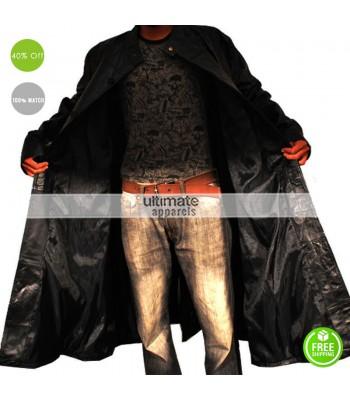 Matrix Neo Evolution Leather Trench Coat