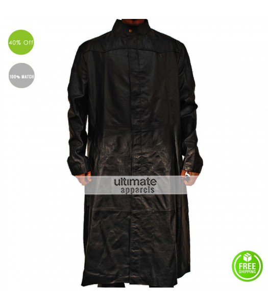 Matrix Keanu Reeves (Neo) Halloween Long Costume Coat