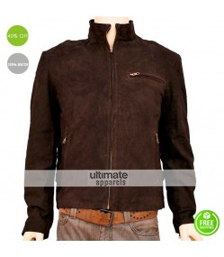 Mission Impossible 3 Tom Cruise Suede Jacket