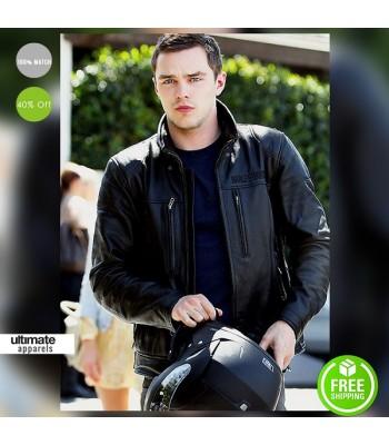 Nicholas Hoult Harley Davidson Biker Jacket