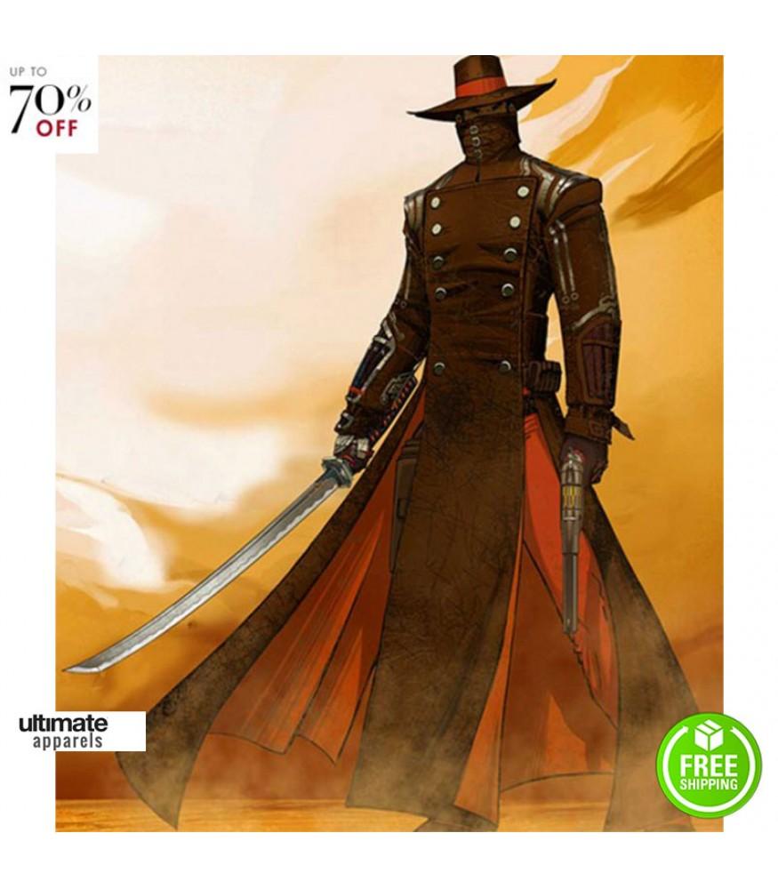 Red Steel 2 Swordsman Last Kusagari Costume Jacket