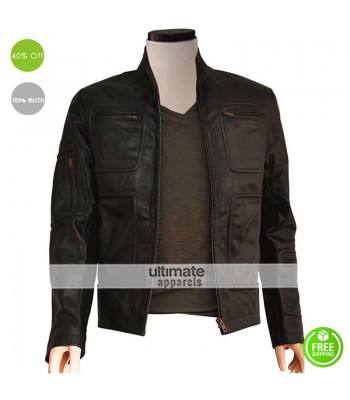 Star Trek 1 James t Kirk Leather Jacket