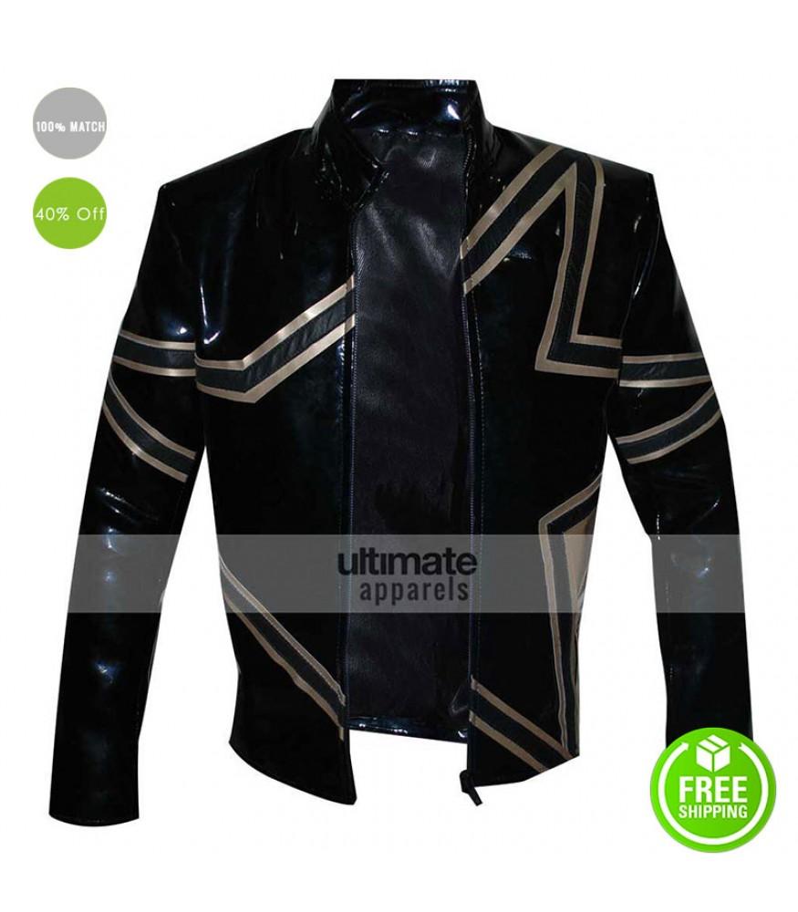 Stardust WWE Black Costume Men Jacket