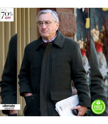 The Intern Robert De Niro Wool Jacket