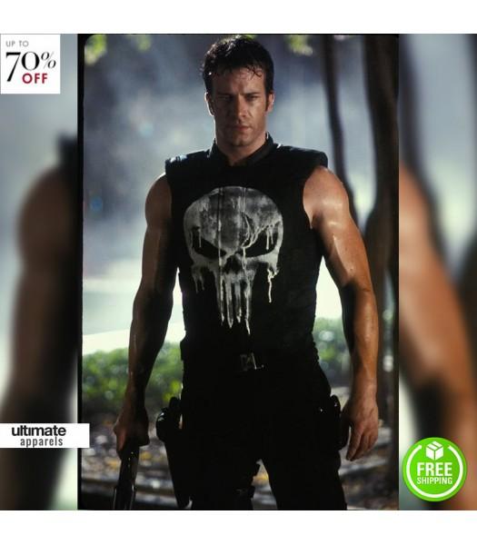 The Punisher Thomas Jane (Punisher) Leather Vest