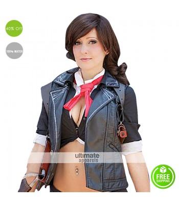 Women Booker Dewitt Bioshock Infinite Cosplay Costume Vest