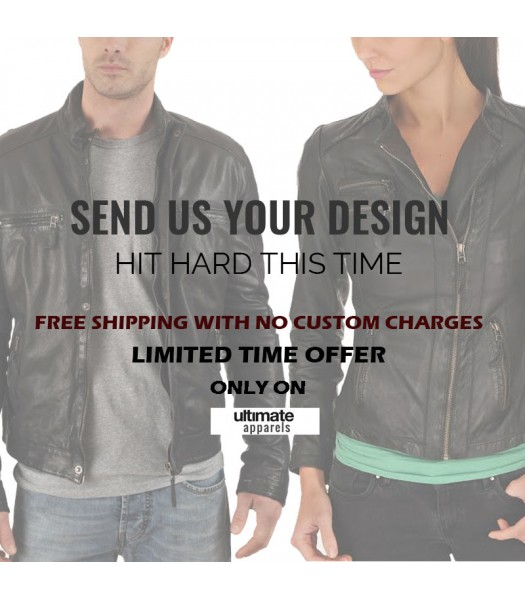 Custom Design Leather Jackets For Men & Women