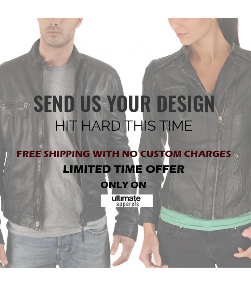Custom Design Leather Jackets For Men & Women