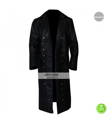 Once Upon A Time Captain Hook Trench Coat Costume