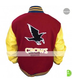 Smallville Crows Clark Kent Varsity Letterman Jacket