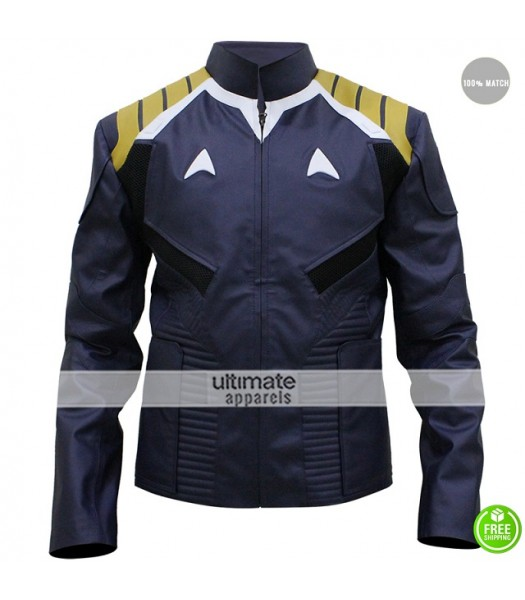 Star Trek Beyond Chris Pine Blue Costume Jacket