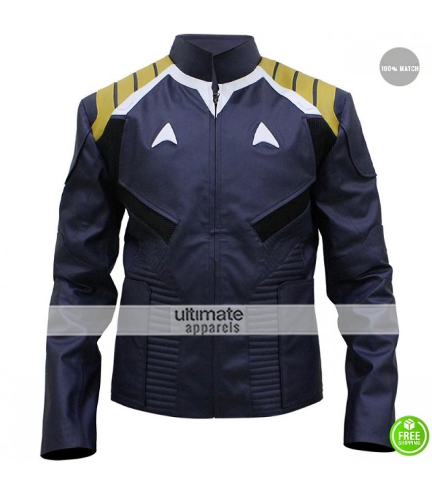 Star Trek Beyond Chris Pine Blue Costume Jacket