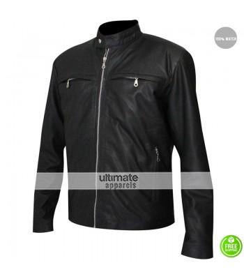 Stormbreaker Alex Pettyfer (Alex Rider) Black Jacket