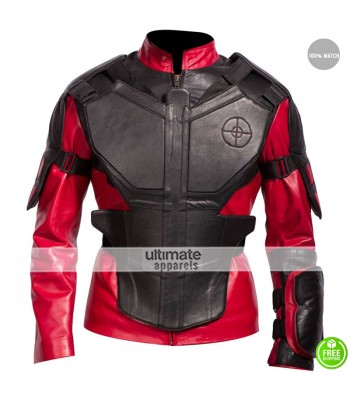 Suicide Squad Will Smith Dead Shot Armor Costume Jacket